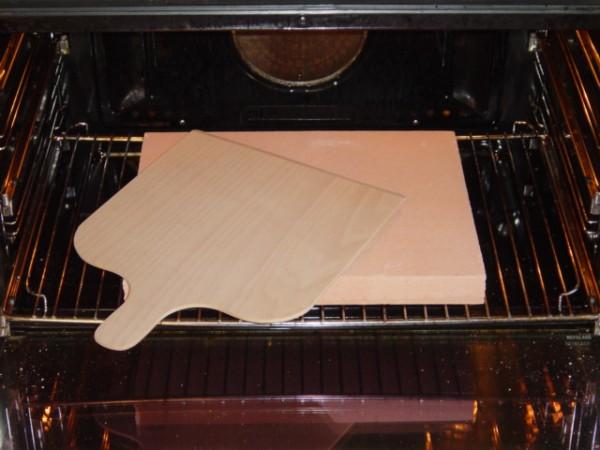 Piastre per pane la casa della piastra per pizza - Piastra refrattaria per forno casalingo ...